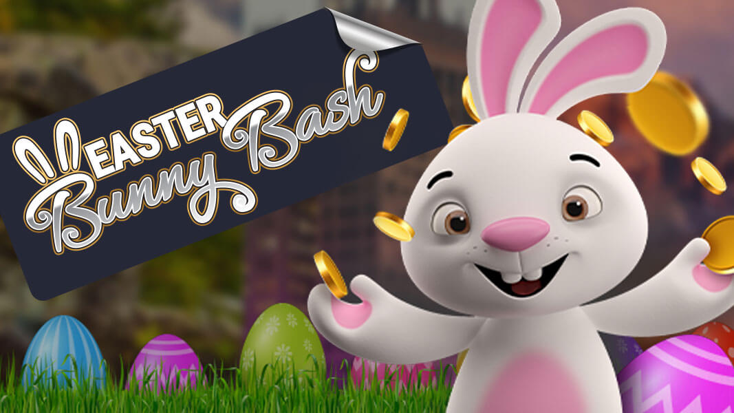 The eggceptional Bunny Bash – now on at Bella Vegas Online Casino