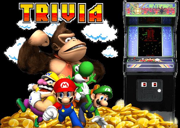 A retro arcade quiz