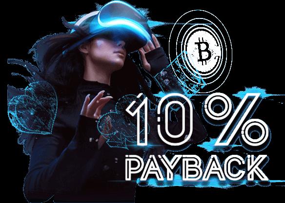 10% Payback Bonus on BTC Deposits